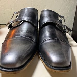 UV Signature Men's Double Monk Strap Dress Shoes